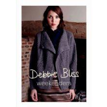 Debbie Bliss Weekenders Collection. 5 Knitwear Designs in Blue Faced Leicester Aran Weight Yarn
